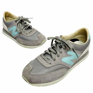 New Balance | Grey Blue 620 Heritage Sneakers